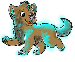 puppy adopted by TailTehEeveelution