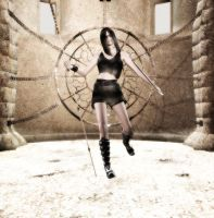 Tomb Raider Type Girl by metabolichate