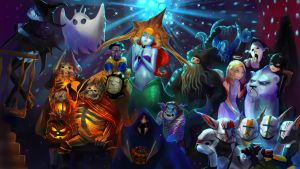 dota Halloween by rakavka