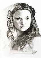 Margaery Tyrell by Dontwannabemyself