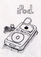 iPod by blindspy
