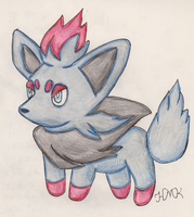 Zorua (REQUEST) by Shabou