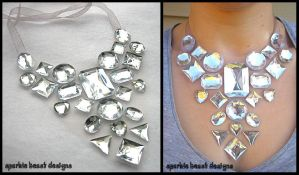 Crystal Ice Necklace by Natalie526