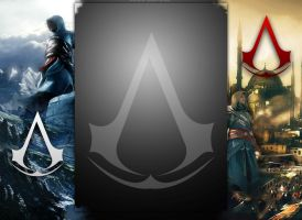 Assassins Creed Free YouTube Background by JaysusAlmighty