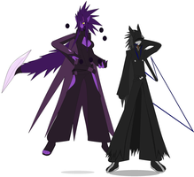 Kai and Kia in Kingdom Hearts by Kai-Chronaius
