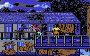 Walking Dead C64: Save The Girl by NickBounty