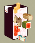 Food Tetris by contraomnes
