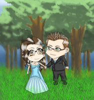 Stepanka and Pavel Chibis by Gingersnap87