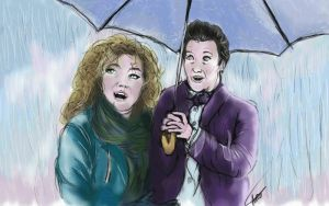 On a Rainy Day - Doctor-x-River. by Laurenthebumblebee