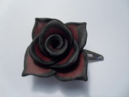 Gothic Clay Rose by Missylanieous