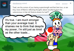 Ask Toad - Super Strength? by pocket-arsenal