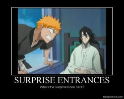 Surprise Entrances by tasumichan