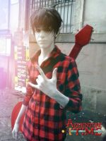 Marshall Lee cosplay by Linebeckart