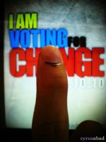 i voted for change by cyrusaurus