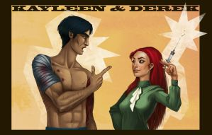 Kayleen and Derek by mausetta