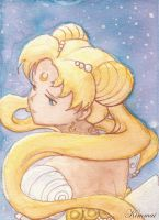Princess Serenity in Dreams by XKimmaiX