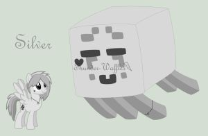 Minecraft OC Silver by BloodIust