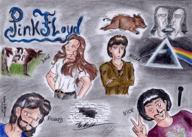 Tribute to Pink Floyd by StarlightsMarti