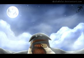 On The Back Of A Night-Fury by RafaBolas