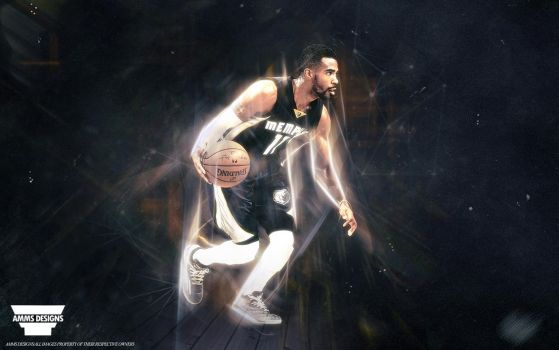 Mike Conley Wallpaper by AMMSDesings