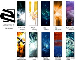 """Pack02 """"The elements"""" by zintexia"""