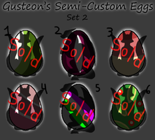 [Closed] Mythical Semi-Custom Eggs: Set 2 by Gusteon