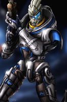 Garrus Vakarian - Mass Effect by slash000