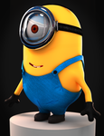Minion Despicable Me (2010) 3D by MrAnimator93