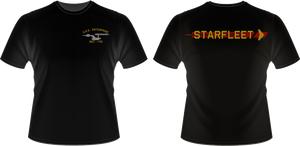 TOS USS Enterprise Crew T-Shirt by viperaviator