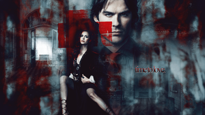 Time To Love delena wallpaper by devilMisao