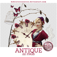 Antique pngs by BeBraveResources