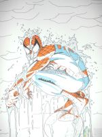 Spider-Man by sasukevsnaruto101