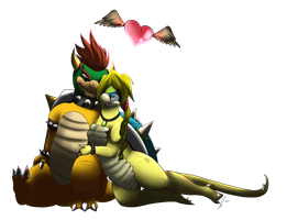 PC MD Koopa and Bowser by jaclynonacloud