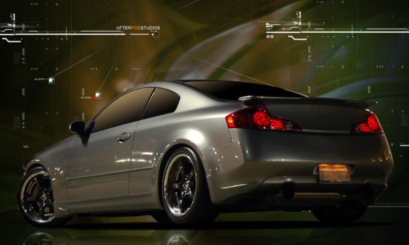 Nissan G35 Coup in Atmosphere by after5