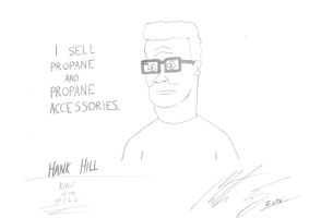 King of the Hill - Hank Hill by MortenEng21