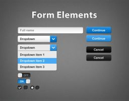 Custom Form Elements by kaolti