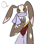 Did someone say Antylamon in a scarf? by Cherries
