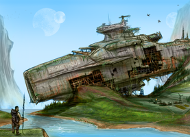 Colonists by AndyFil