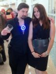 Tony Stark and Pepper Potts - Ironman - AX 2012 by chibireaper