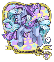 power trixie by raspbearyart