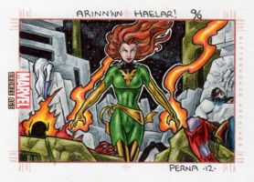 Phoenix vs The Imperial Guard - Marvel Bronze Age by tonyperna
