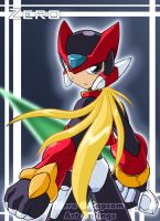 Mega Man Zero by rongs1234