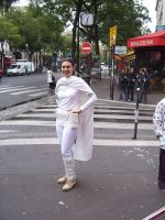 Mademoiselle Le Senateur Amidala in Paris by locomotiva