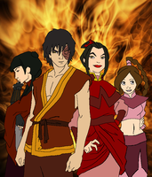 Fire Nation by T1p2