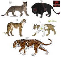 Feline Auction - Adoptables CLOSED by Anipurk