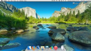 Yosemite Desktop by alex8908