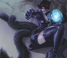 9 Lives Ahri by Flea-biscuit