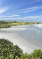 South Island beach by postaldude66