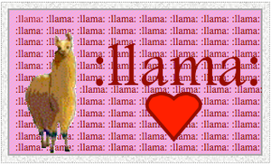 Llamas Are Awesome by puggers