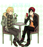 Jack and Kyle. by MilkyWay-Moe